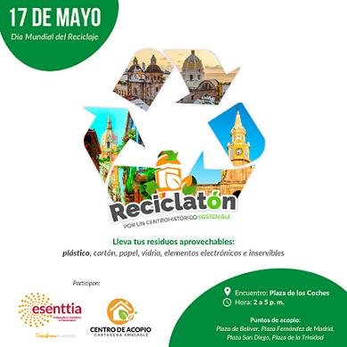 Reciclatón, por un Centro Histórico Sostenible