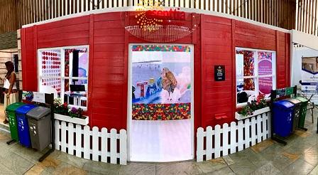 Esenttia presenta en la ANDI stand elaborado con 474 kilos de plástico reciclado