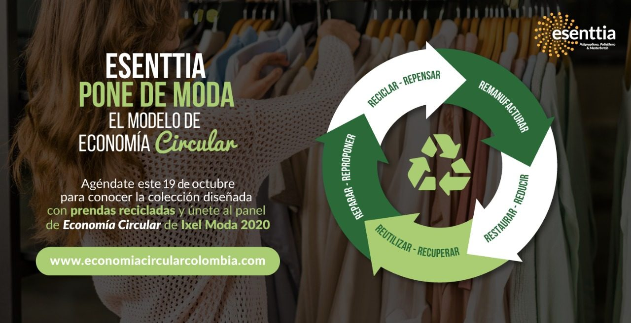 Esenttia lleva el modelo de Economía Circular a la industria textil