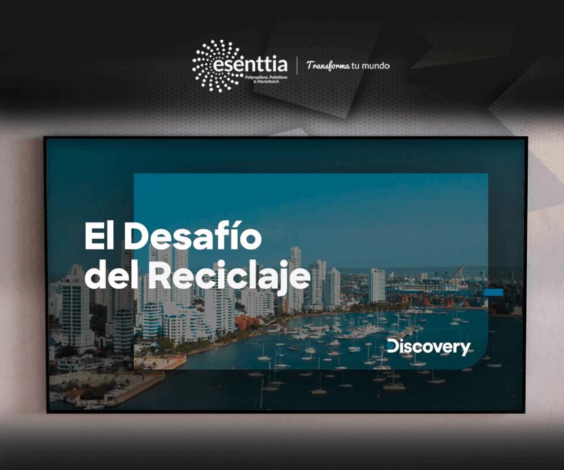 El desafío del reciclaje Discovery